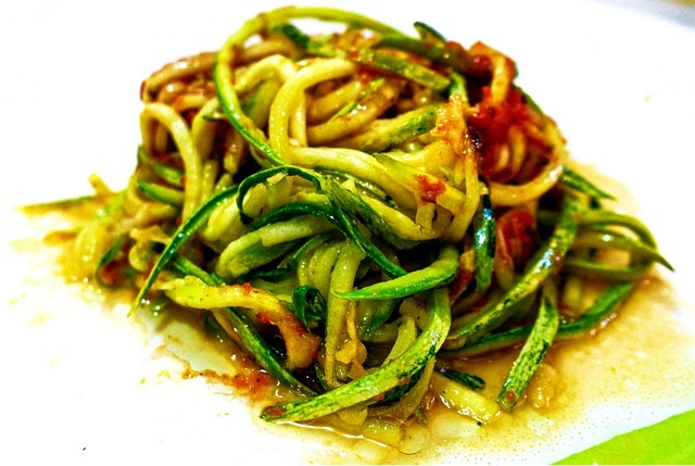 courgette tomatensaus