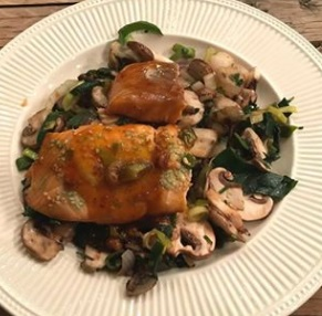 ZALM IN OOSTERSE MARINADE